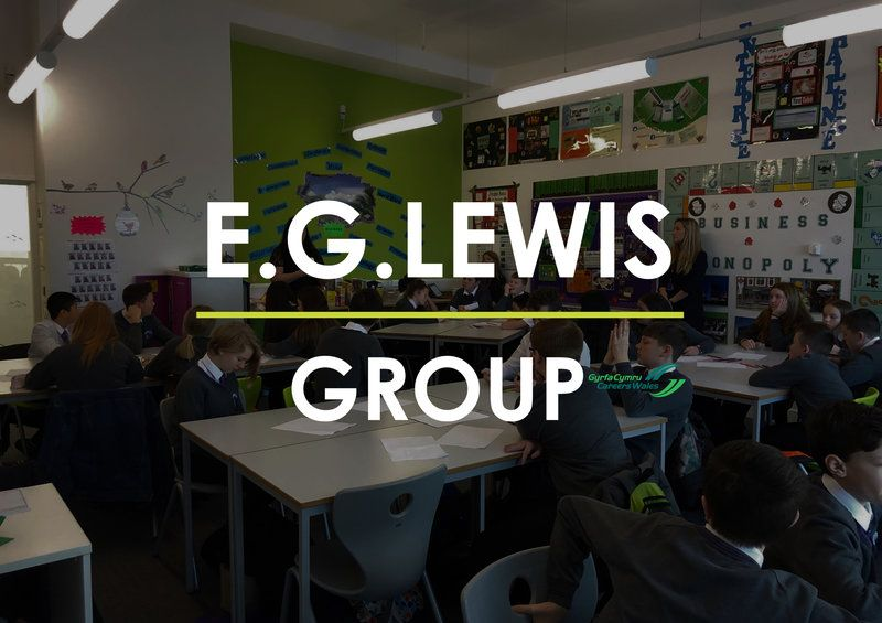 E.G. LEWIS GROUP TO SUPPORT YSGOL CWM BROMBIL WITH MOCK INTERVIEWS